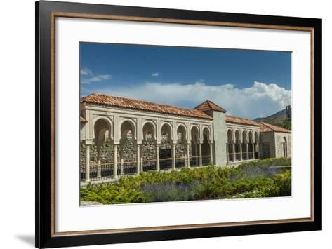 Gallery in the Rabat Fortress-Richard Nowitz-Framed Art Print