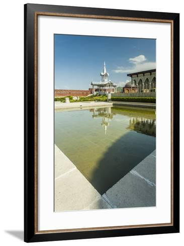Gazebo with a Fountain in the Rabat Fortress-Richard Nowitz-Framed Art Print