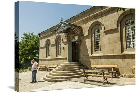 The Exterior of the Akhaltsikhe Synagogue of the Georgian Jews-Richard Nowitz-Stretched Canvas Print