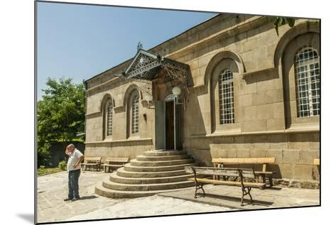 The Exterior of the Akhaltsikhe Synagogue of the Georgian Jews-Richard Nowitz-Mounted Photographic Print