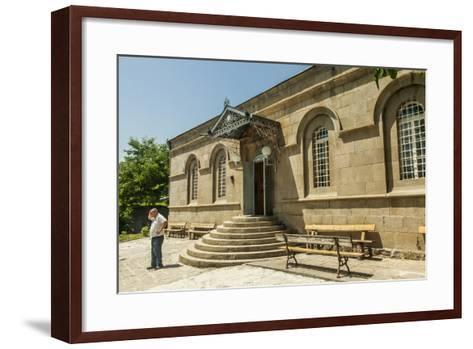 The Exterior of the Akhaltsikhe Synagogue of the Georgian Jews-Richard Nowitz-Framed Art Print