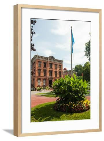 The Saratoga Springs History Museum, Located in the Canfield Casino in Congress Park-Richard Nowitz-Framed Art Print