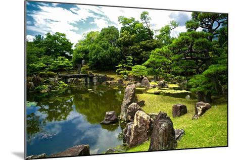 The Pond of the Ninomaru Garden-Kike Calvo-Mounted Photographic Print