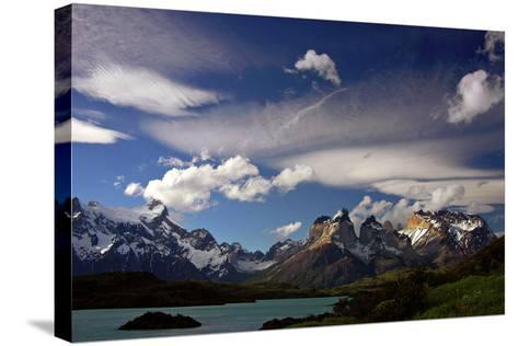 Granite Peaks in Torres Del Paine National Park-Tommy Heinrich-Stretched Canvas Print
