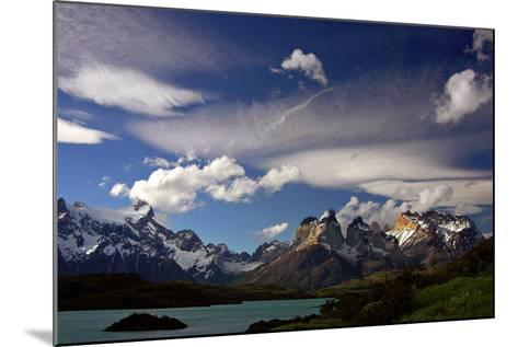 Granite Peaks in Torres Del Paine National Park-Tommy Heinrich-Mounted Photographic Print