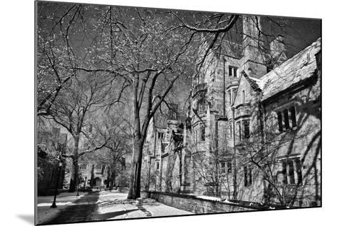 Winter Blizzard at Yale University-Kike Calvo-Mounted Photographic Print
