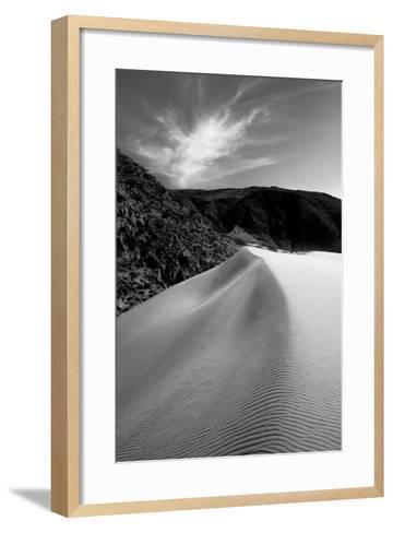 A Sand Dune Ridge Near Palm Springs-Ben Horton-Framed Art Print