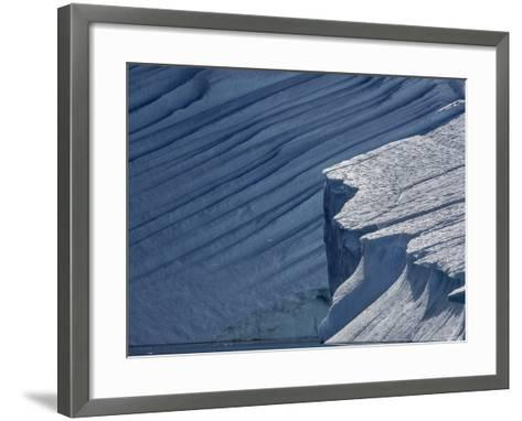 About 20 Billion Tons of Icebergs Move Through Ilulissat Icefjord, a World Heritage Site, Yearly-Jay Dickman-Framed Art Print