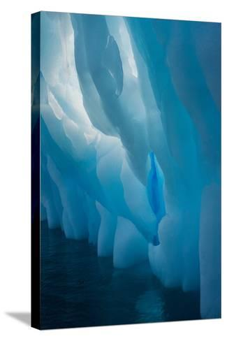 Abstract View of Ice Lit from Outside-Tom Murphy-Stretched Canvas Print