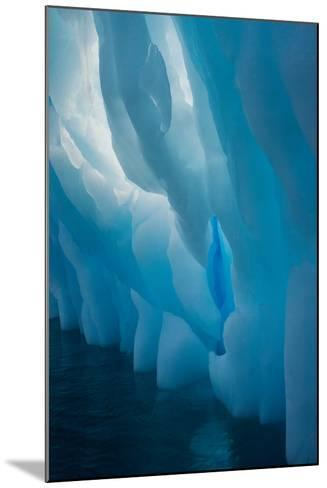 Abstract View of Ice Lit from Outside-Tom Murphy-Mounted Photographic Print