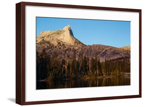 Cathedral Peak in Tuolumne Meadows-Ben Horton-Framed Art Print
