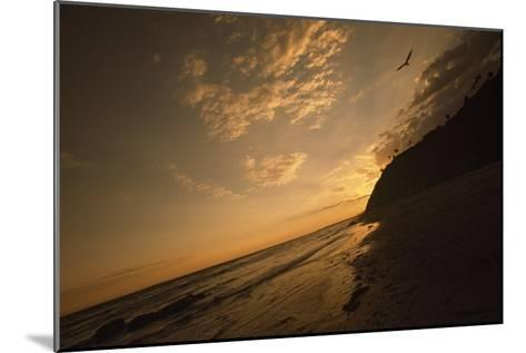 Sunset at Arroyo Burro Beach-Macduff Everton-Mounted Photographic Print