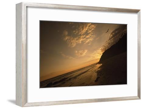 Sunset at Arroyo Burro Beach-Macduff Everton-Framed Art Print