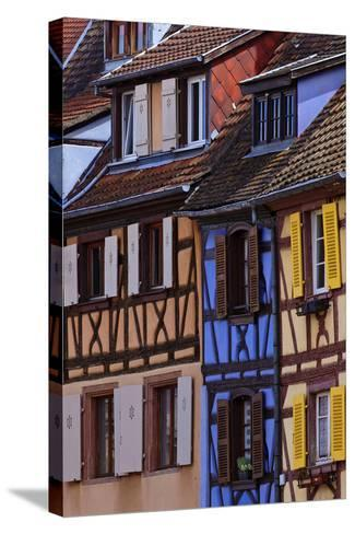 Colorful Half-Timbered Homes in Petite Venice, the Old Town of Colmar, France-Babak Tafreshi-Stretched Canvas Print