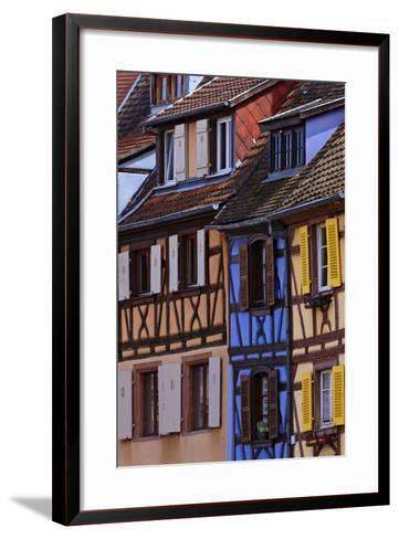 Colorful Half-Timbered Homes in Petite Venice, the Old Town of Colmar, France-Babak Tafreshi-Framed Art Print