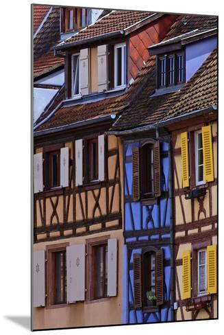 Colorful Half-Timbered Homes in Petite Venice, the Old Town of Colmar, France-Babak Tafreshi-Mounted Photographic Print
