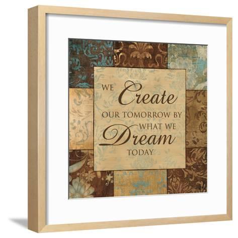 What We Dream Today-Artique Studio-Framed Art Print