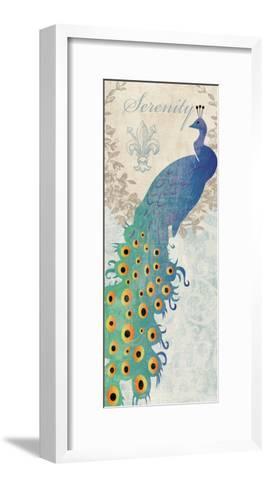 Serene Peacock-Piper Ballantyne-Framed Art Print