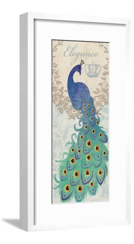 Elegant Peacock-Piper Ballantyne-Framed Art Print