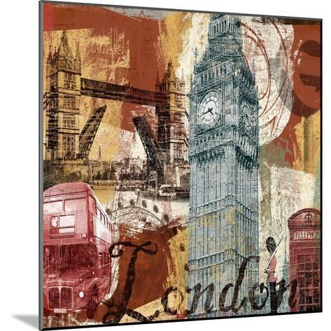 Tour London-Eric Yang-Mounted Art Print