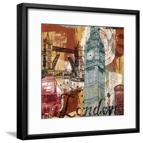 Tour London-Eric Yang-Framed Art Print