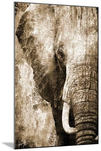 African Animals I - Sepia-Eric Yang-Mounted Art Print