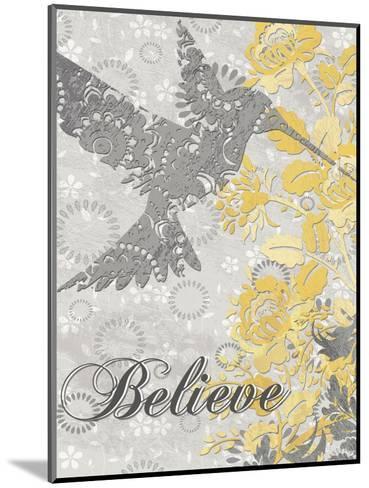 Believe Bird-Piper Ballantyne-Mounted Art Print