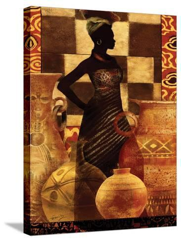 African Traditions I-Eric Yang-Stretched Canvas Print