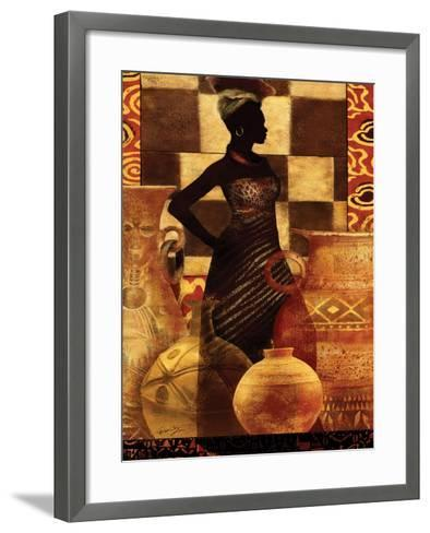 African Traditions I-Eric Yang-Framed Art Print