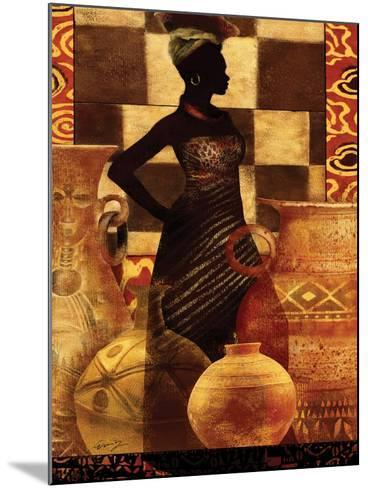African Traditions I-Eric Yang-Mounted Art Print