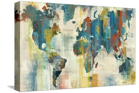 World Map-Eric Yang-Stretched Canvas Print
