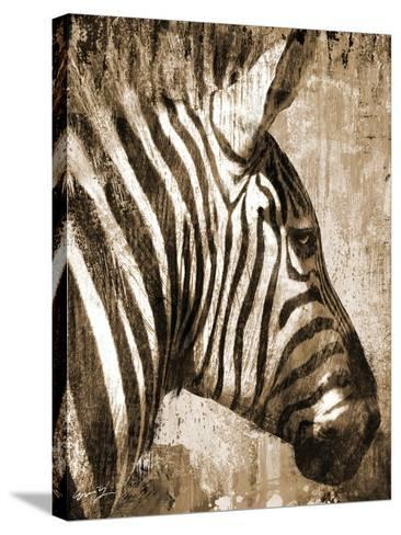 African Animals II - Sepia-Eric Yang-Stretched Canvas Print