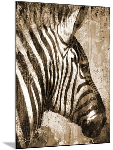African Animals II - Sepia-Eric Yang-Mounted Art Print
