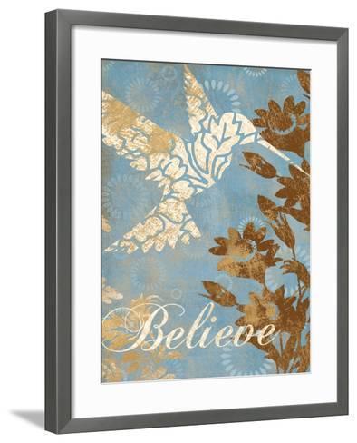 Believe Silhouette-Piper Ballantyne-Framed Art Print
