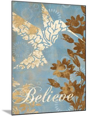 Believe Silhouette-Piper Ballantyne-Mounted Art Print