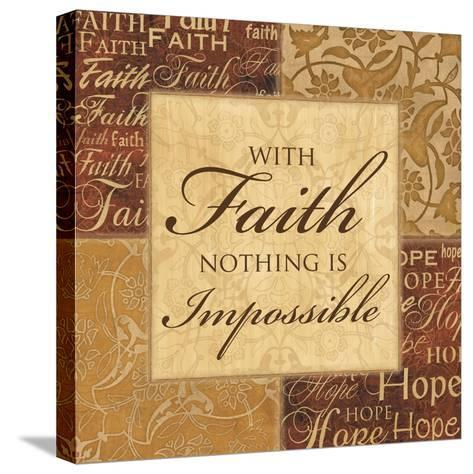 With Faith-Piper Ballantyne-Stretched Canvas Print
