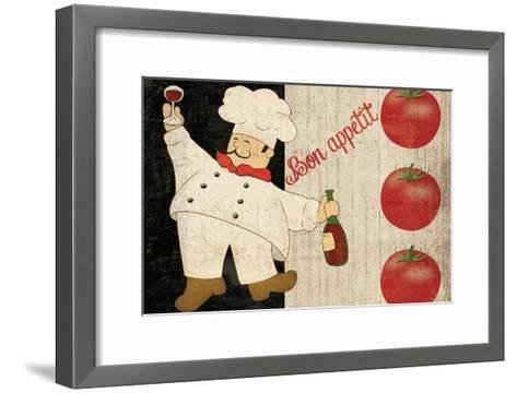 Bon Appetit Chef-Piper Ballantyne-Framed Art Print