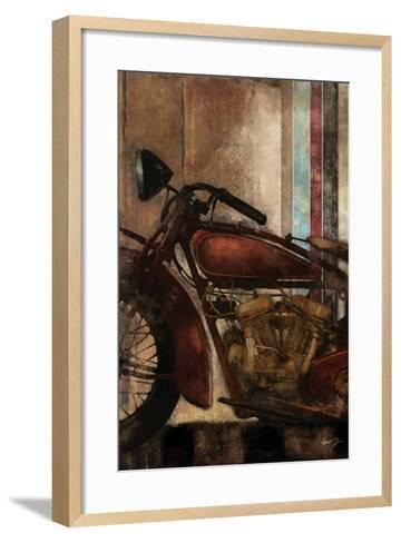 Moto Details II-Eric Yang-Framed Art Print