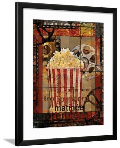 Movie Popcorn-Eric Yang-Framed Art Print