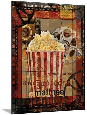 Movie Popcorn-Eric Yang-Mounted Art Print