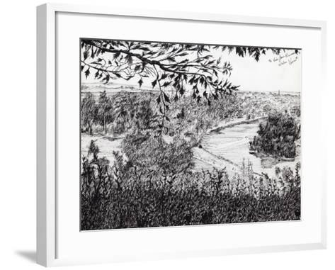 View from Ruchmond Hill, 2004-Vincent Alexander Booth-Framed Art Print