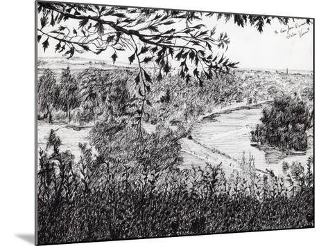 View from Ruchmond Hill, 2004-Vincent Alexander Booth-Mounted Giclee Print