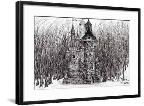 The Castle in the Forest of Findhorn, 2009-Vincent Alexander Booth-Framed Art Print