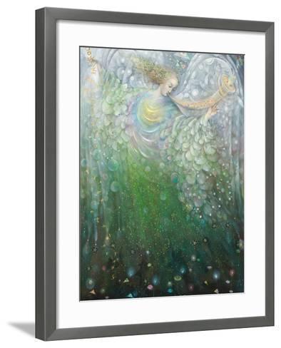 The Angel of Growth, 2009-Annael Anelia Pavlova-Framed Art Print
