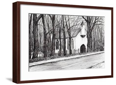 The White Chapel, Aviemore, 2007-Vincent Alexander Booth-Framed Art Print