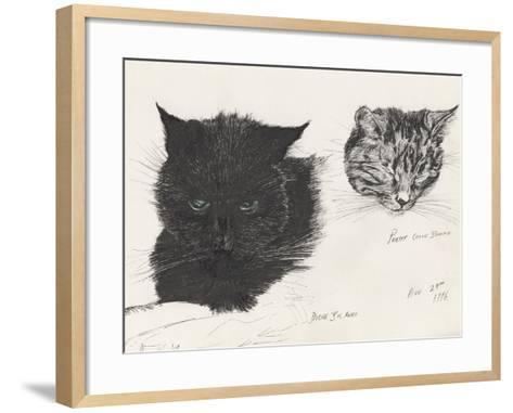 Diddybigface and Colliebeastie, 1996-Vincent Alexander Booth-Framed Art Print