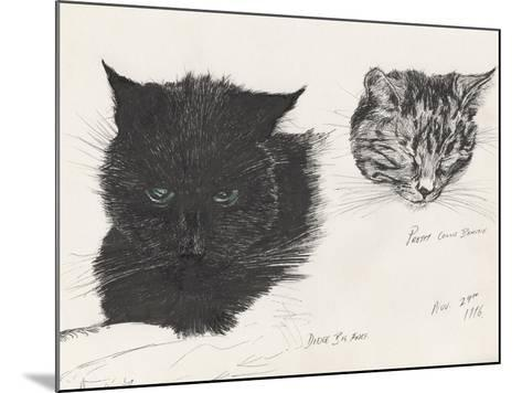 Diddybigface and Colliebeastie, 1996-Vincent Alexander Booth-Mounted Giclee Print