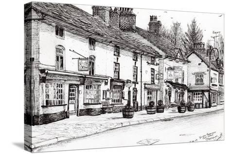 Post Office, Prestbury, 2009-Vincent Alexander Booth-Stretched Canvas Print