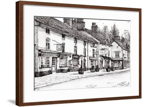 Post Office, Prestbury, 2009-Vincent Alexander Booth-Framed Art Print