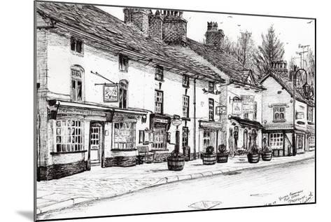 Post Office, Prestbury, 2009-Vincent Alexander Booth-Mounted Giclee Print